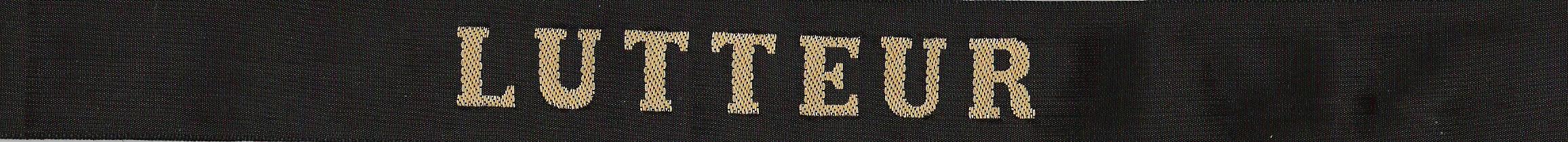 Le ruban légendé en 1973-1974 il n étais pas encore porté