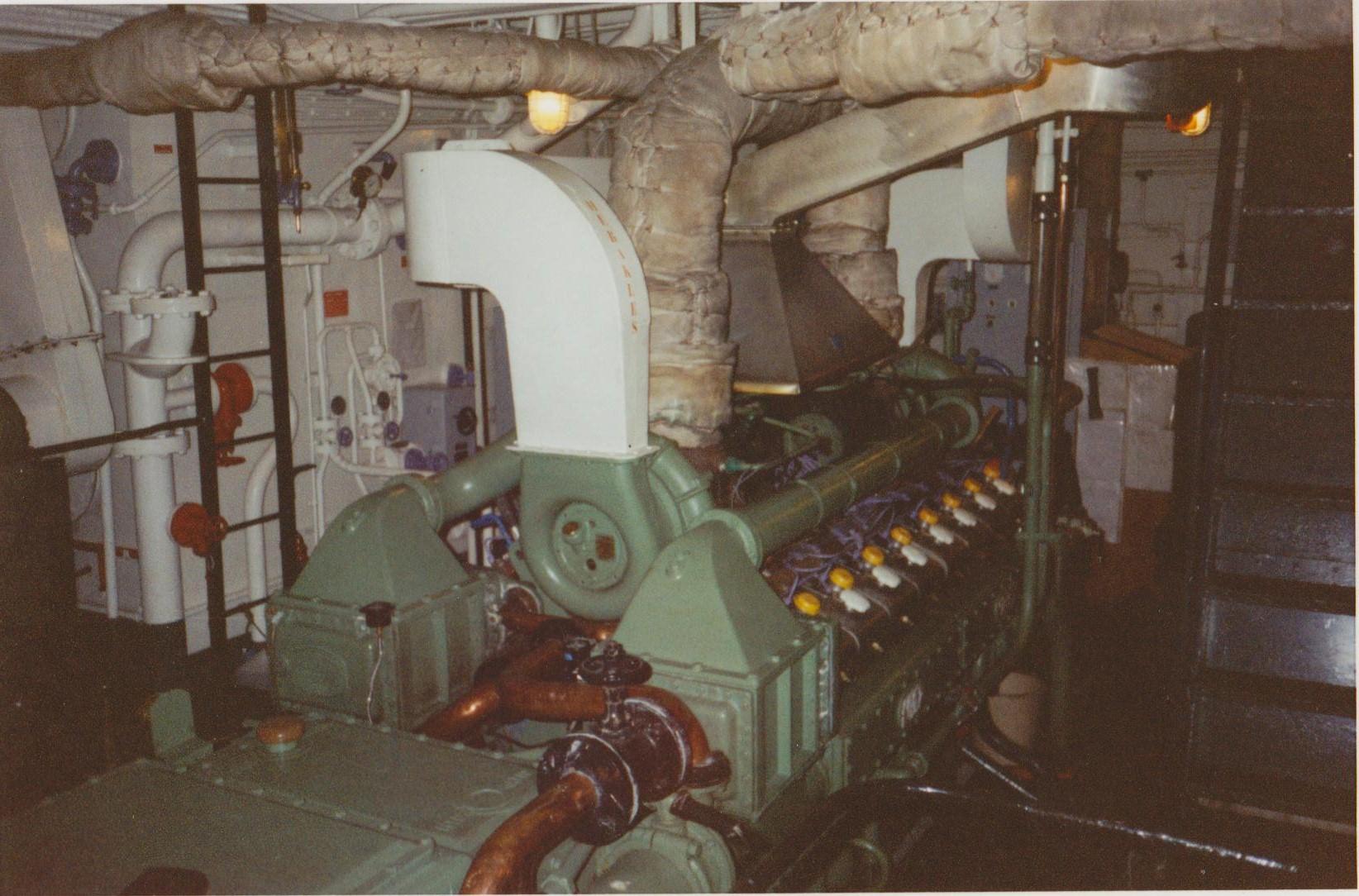 moteur principal